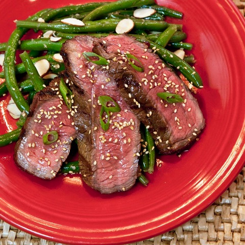 Sesame-Garlic Top Sirloin