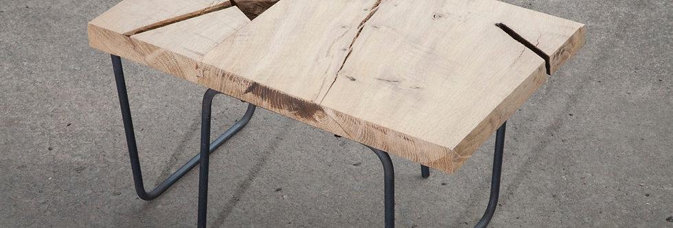Wood Top - Steelaple Leg - TABLE
