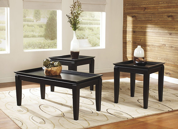 Delormy Occasional Table Set 3pk