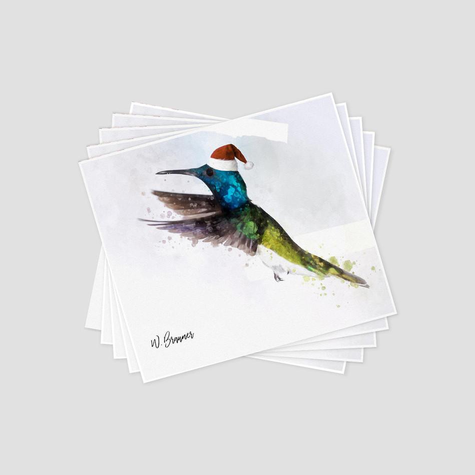 Holiday Hummingbirds