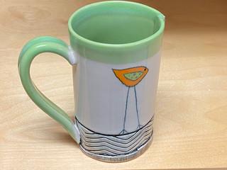 Large Chartruese Mug
