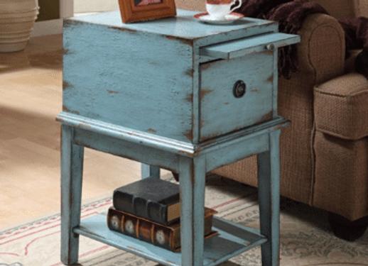 1 Drawer Cabinet (Blue)