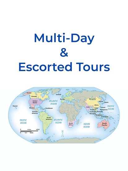 Multi-Day and Escorted Tours
