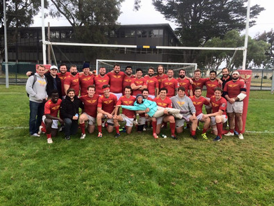 Mallory Celleya with Olympic Club Rugby