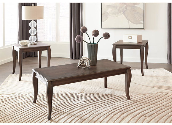 Vintelli Occasional Table Set 3pk