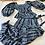 Thumbnail: Vintage 1970s Yves Saint Laurent Purple Silk Floral-Print Skirt Ensemble