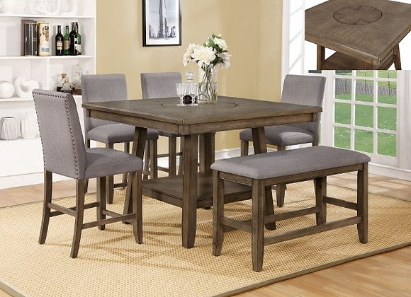 Manning Counter Height Table Set and Bench