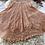 Thumbnail: Peach Crochet Two-Piece Skirt Set