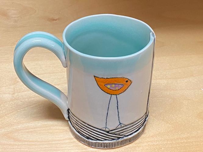Small Chun Blue Mug