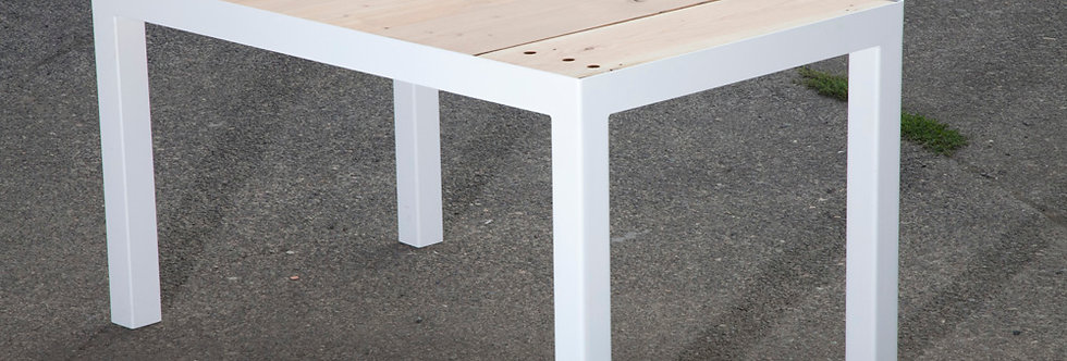 Reclaimed Top - Steel Leg - TABLE