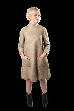 Bill Blass for Maurice Rentner Wool Dress