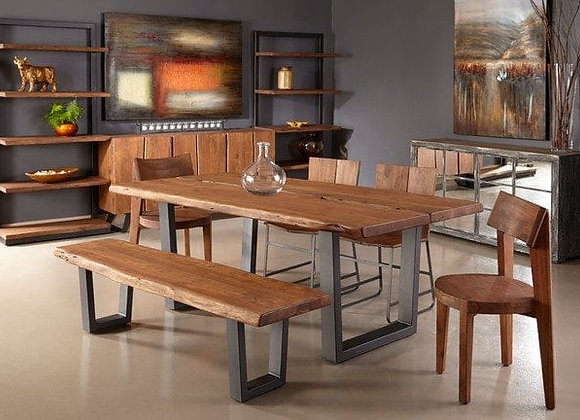 Sequoia Dining Set and Bench