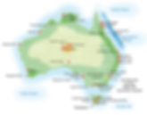 map of australia, travel australia