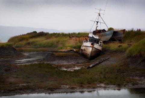 Boat Graveyard - Homer, AK