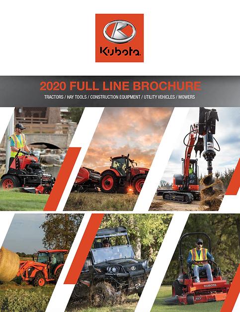 Kubota Full Line 2020