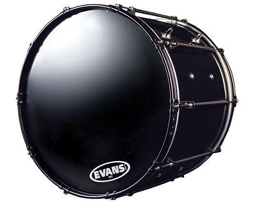 "System Blue Marching Bass Drum 14"" x 22"""