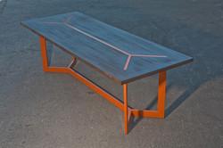 Wood Top - Steel Leg - TABLE
