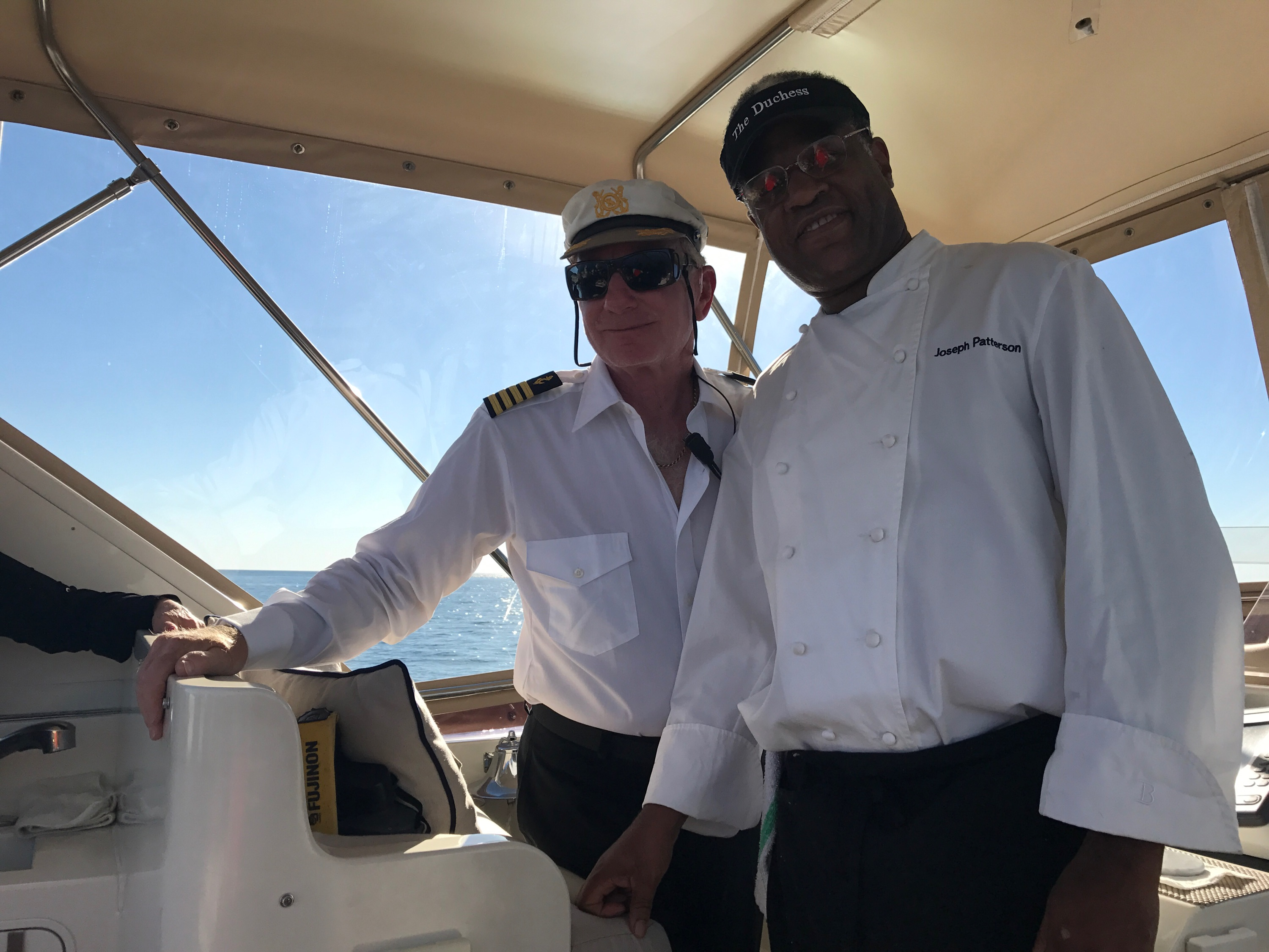 Chef Joe joins Captain Skip