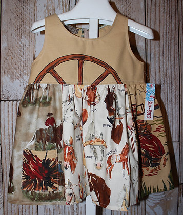 Campfire on the Range Dress