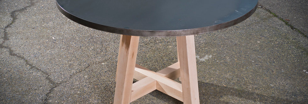 Steel Top - Maple Leg - TABLE