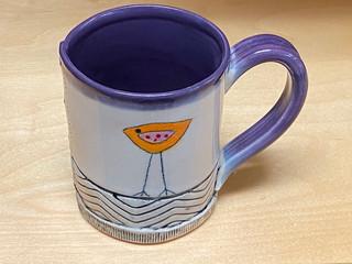 Small Purple Mug