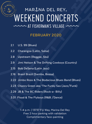 Fisherman's Village Weekend Concerts