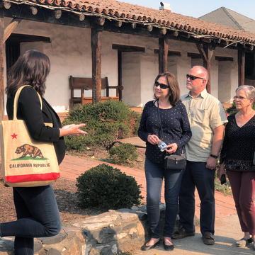 Intro to Sonoma & History Tour