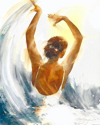 """Original Watercolor by Beth Verheyden - """"Pinnacle"""""""
