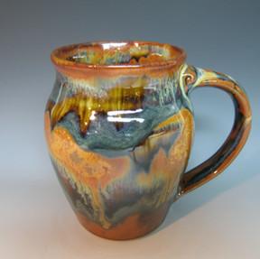 Small Round Mug in Goldstone.JPG