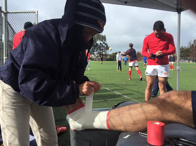 Mallory Olympic Club Rugby Sports Medicine Outreach