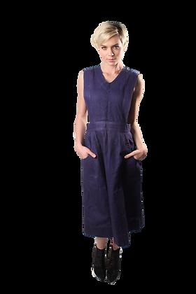30's Cotton Uniform Dress