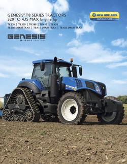 Genesis T8 Series Tractors