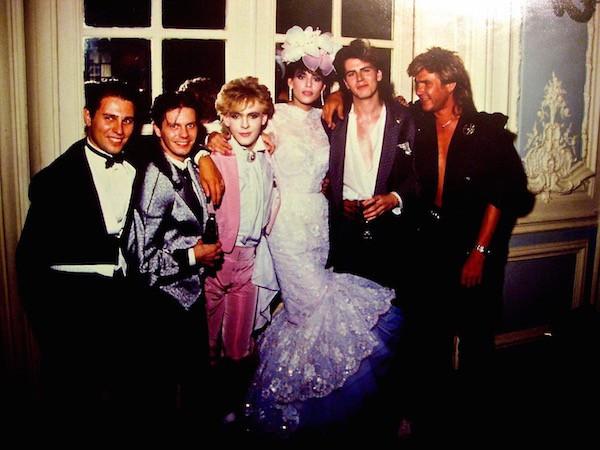 With Duran Duran