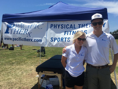 Sports Medicine Out reach Dr. Dan Fay and Paige Price