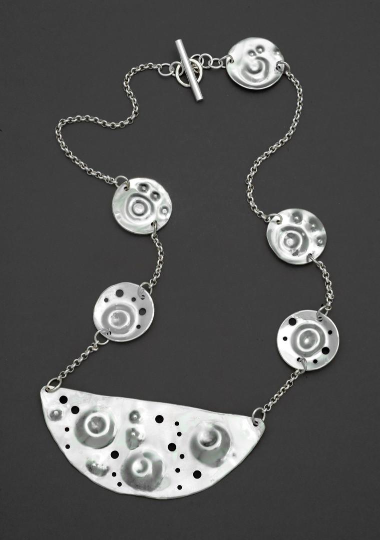 Half Moon Crator Necklace