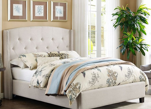 Eva Bed in Ivory