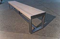 "3"" Maple slat bench"