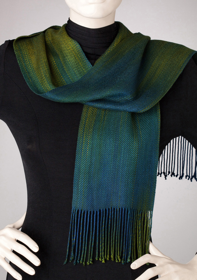 Woven Tencel Oregon Winter Scarf