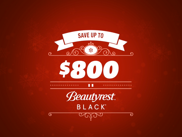 Save up to $800 on Beautyrest Black