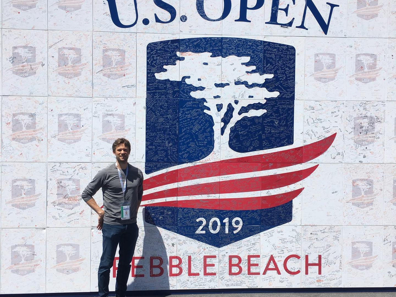 Brandan Pesa Sports Medicine Tent at the US Open Golf