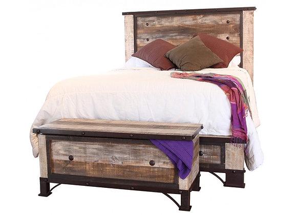 Antique Multicolor Bed
