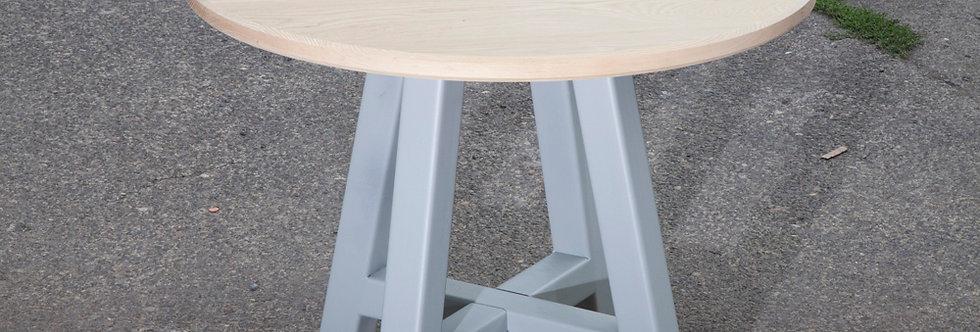 Ash Top - Steel Leg - TABLE