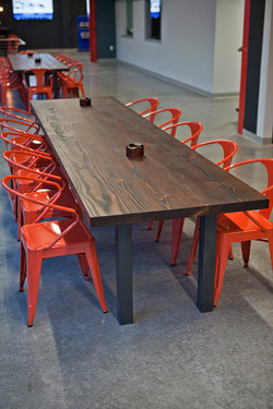 Reclaimed Common Area Tables