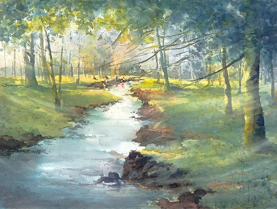 "Giclee Print by Beth Verheyden - ""Courtney Creek Treasures"""
