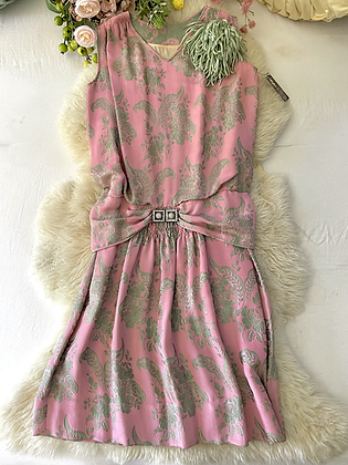 '20s Pink Flapper Dress