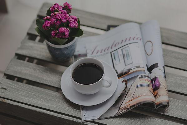 Magazine & Coffee (Edited)