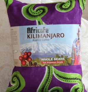 Kilimanjaro coffee beans, 400g-double wrapped