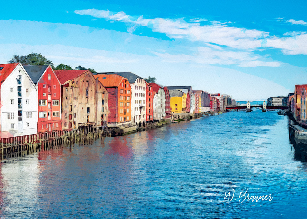 Canal Zone, Trondheim, Norway