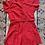 Thumbnail: '40s Lipstick Red Cotton Athletic Uniform