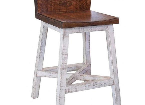 "Pueblo Counter Height Bar Stool 24"""